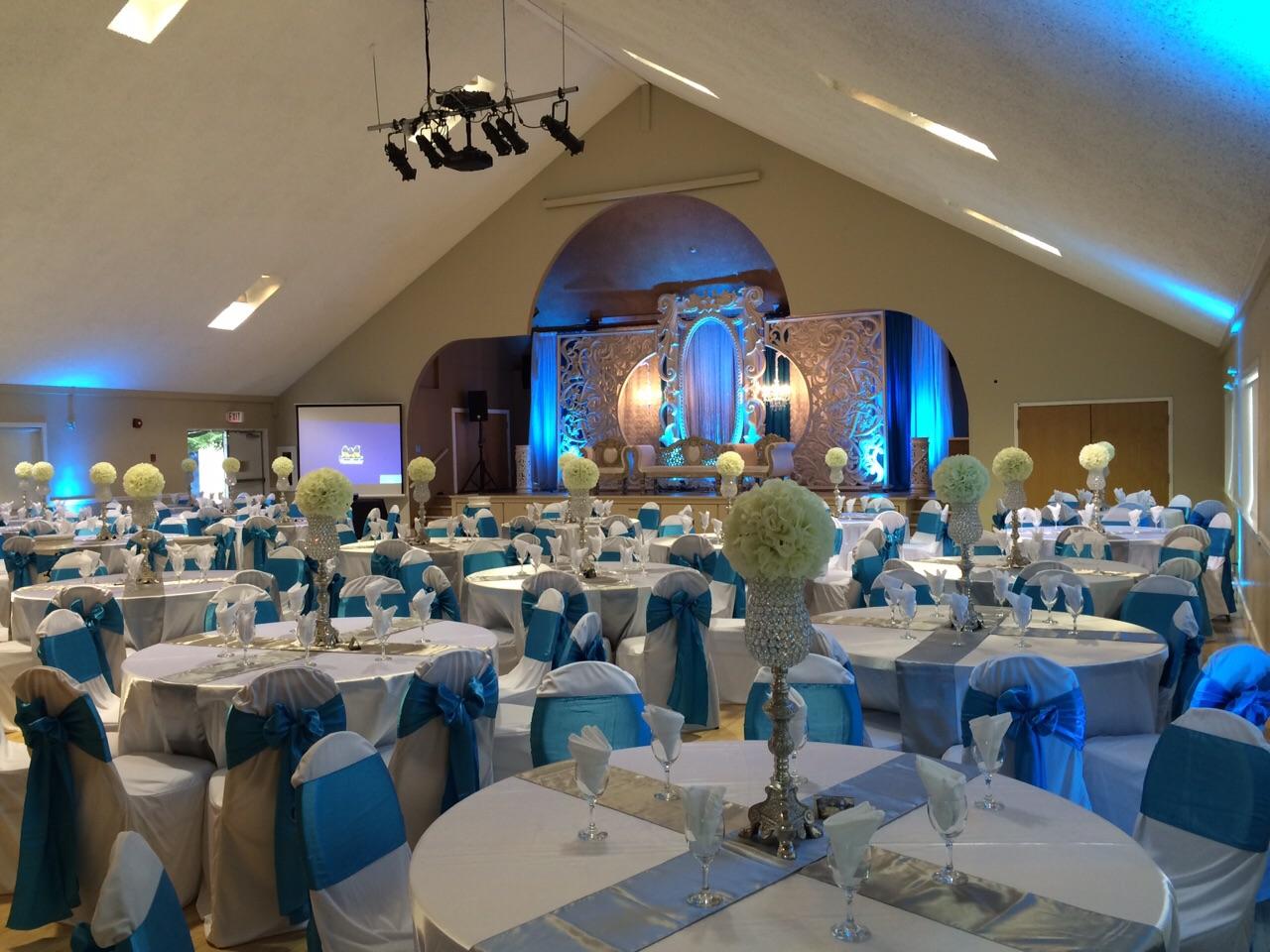 Main Hall blue wedding 1