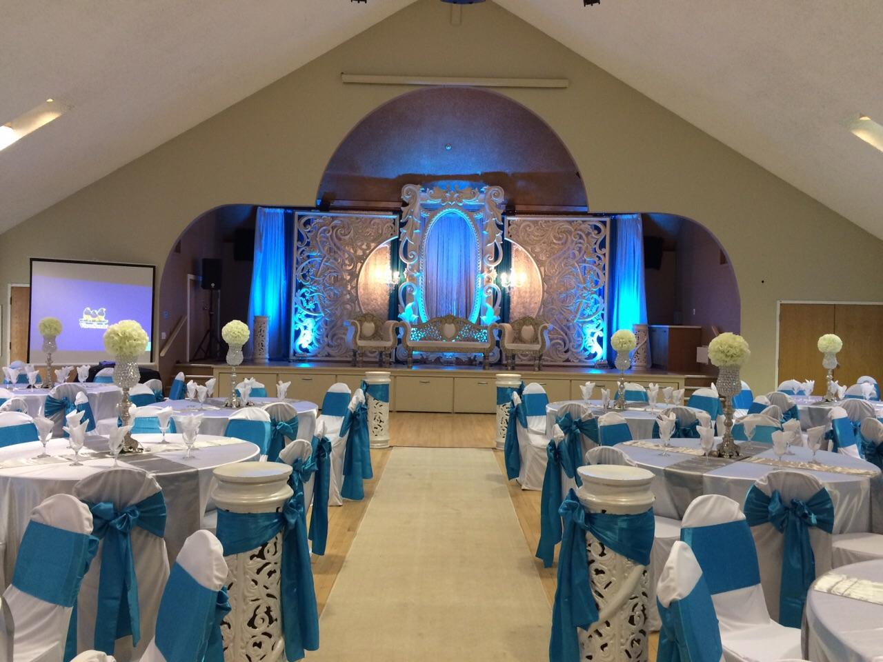 Main Hall blue wedding 5